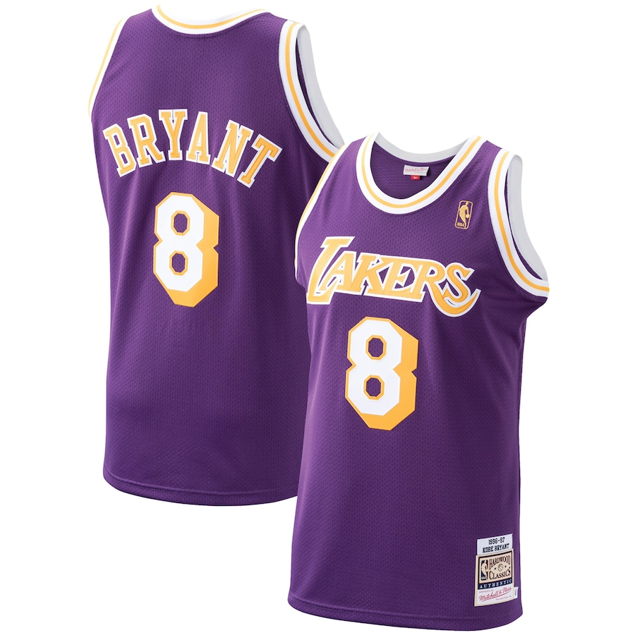 Los Angeles Lakers Jersey Kobe Bryant #8 NBA Jersey 1996/97