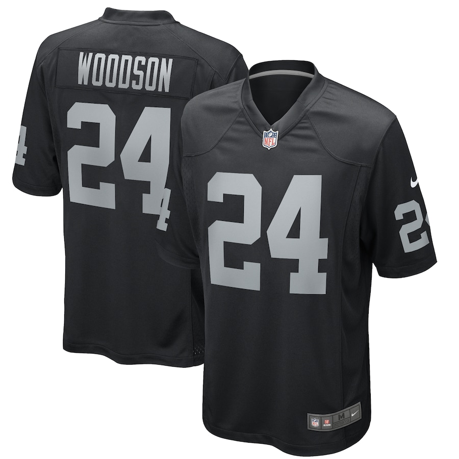 Charles Woodson Las Vegas Raiders Nike Game Retired Player Jersey ...